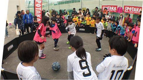 ストリート サッカー イベント