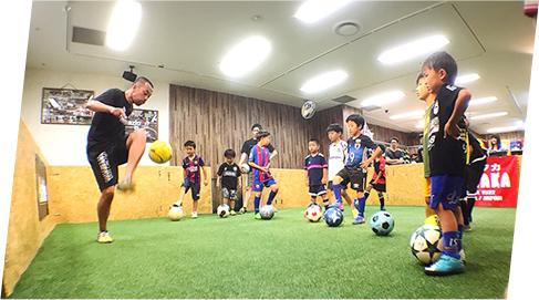 サッカー、フットサル、ストリートで使える足技、3ON3ゲーム