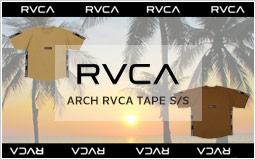 ルーカ ARCH RVCA TAPE S/S AJ042300