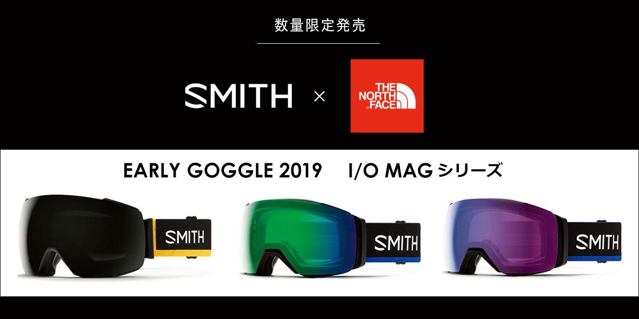 スミス ノースフェイス スノーゴーグル アイオーマグ AustinSmith X THENORTHFACE I/O MAG 010260002