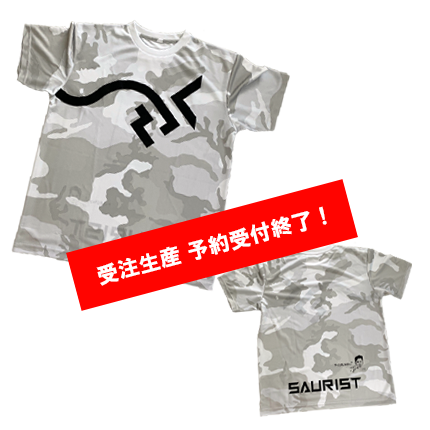 SAURUS ランナーTシャツ